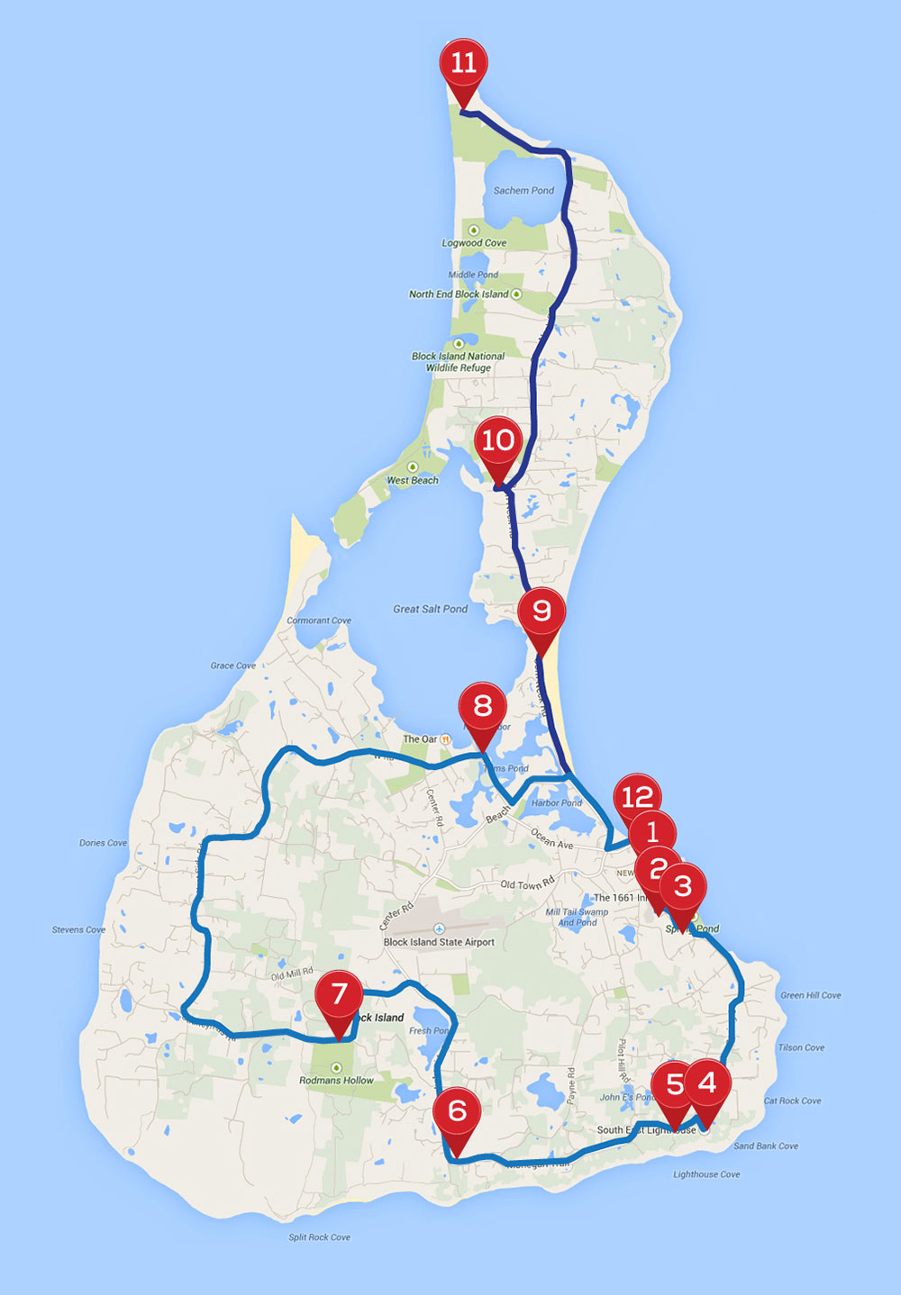 Block Island Bike Tour